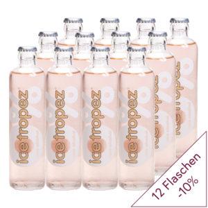 12x Ice Tropez 0.0% Alkohol 275ml Designer Flasche